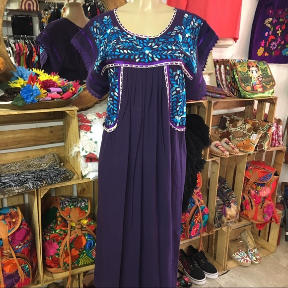 Cielito Lindo Dresses   Plus Size Mexican Dress Maxi Embroidered By ...